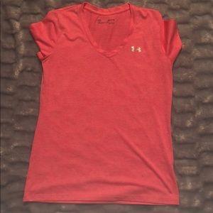 Pink Under armor shirt